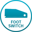 Características do MultiShape - Foot Switch